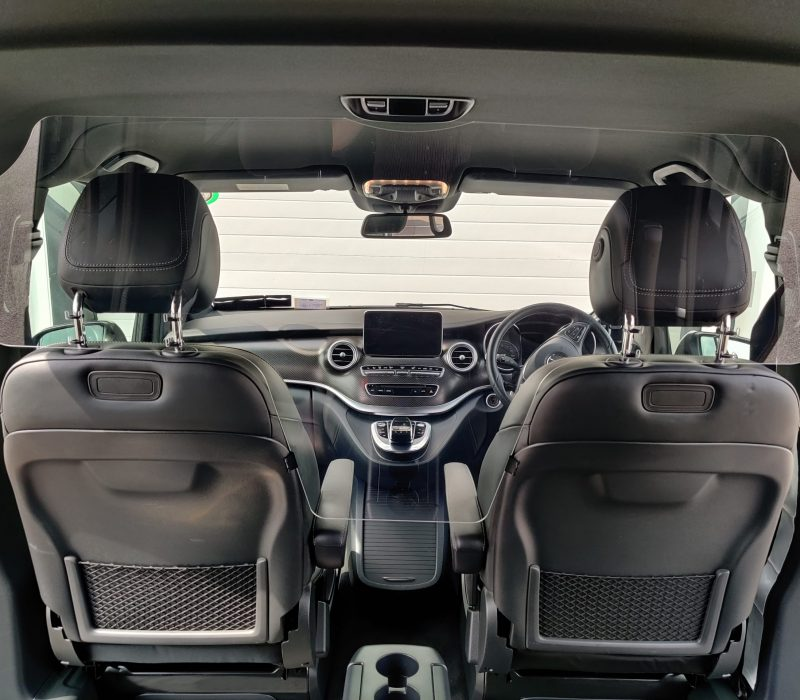 Premier Chauffeur Drive _ Covid19 Vehicle Protective Screen..