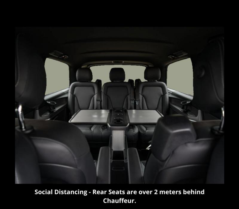 Premier Chauffeur Drive _ Social Distancing V Class ..