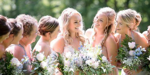 Premier Chauffeur Drive _ Wedding Car _ Photo Of Bridesmaids